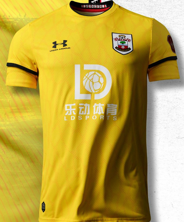 Southampton Yellow Goalkeeper Shirt 20-21