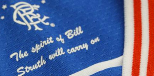 The Spirit of Bill Struth Will Carry On Rangers Kit 20-21