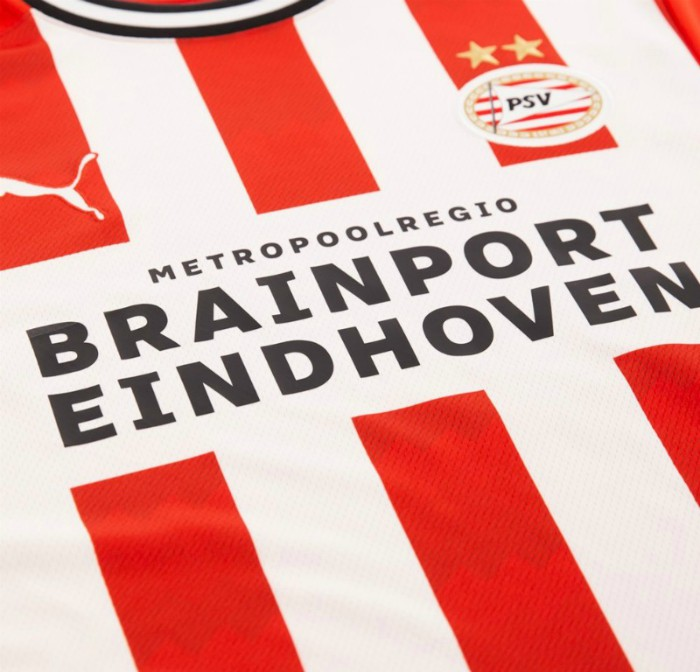Vibe Logo Eindhoven on PSV Shirt 2020 21