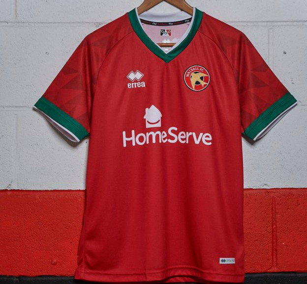 Walsall New Kit 2020-21