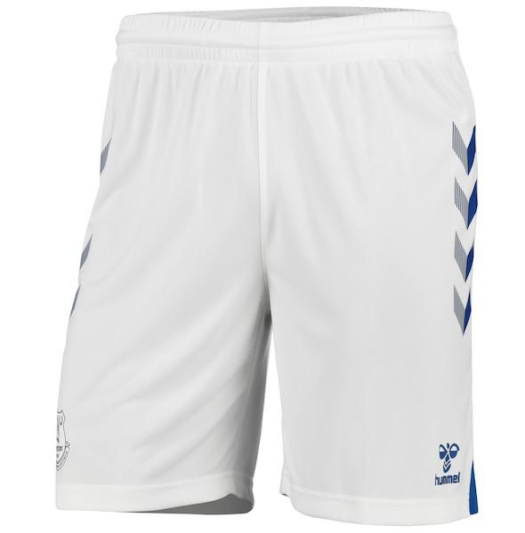 White Everton Home Shorts 20-21