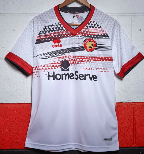 White Walsall Shirt 2020-21