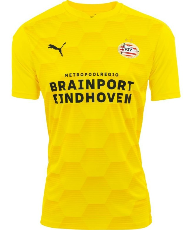 Yellow PSV Eindhoven Goalkeeper Shirt 2020-21
