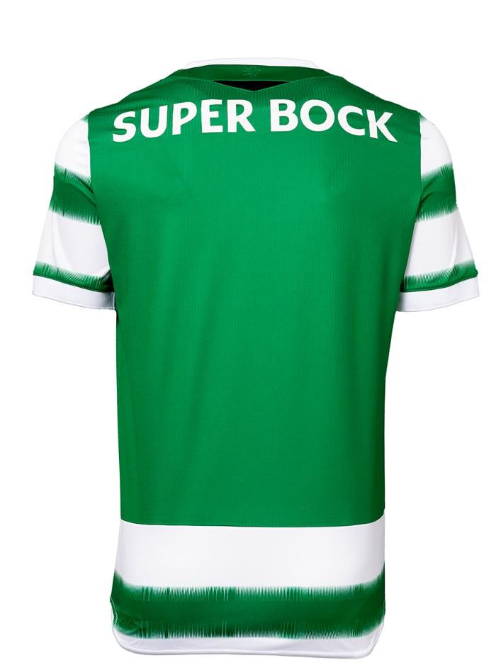 back of sporting lisbon shirt 20-21
