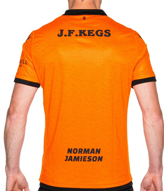 Back of Dundee United Home Shirt 2020-21