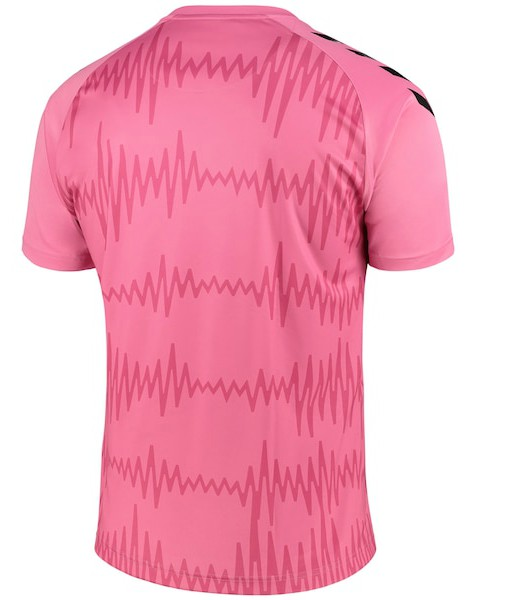 Back of EFC Away Goalkeeper Shirt 2020 21
