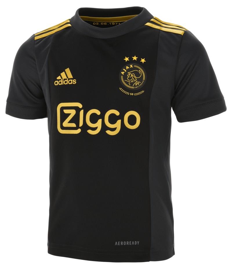 Black Ajax Third Jersey 2020 2021