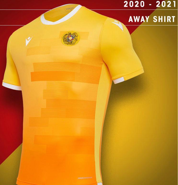 New Armenia Soccer Jersey 2020-21 Away