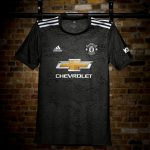 Dark Green Manchester United Away Jersey 2020-2021