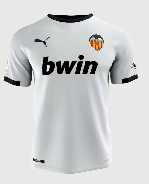New Valencia Home Shirt 2020-21