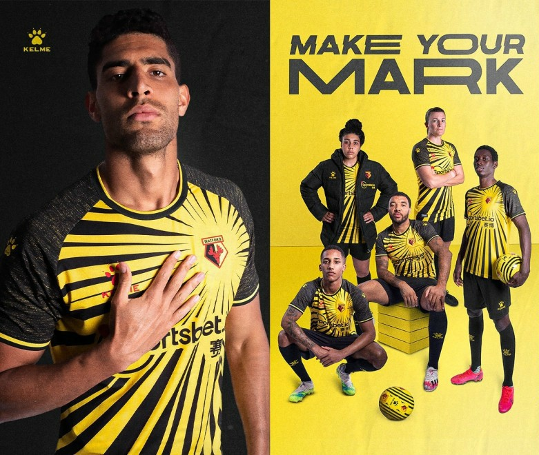 New Watford Kelme Kit 2020