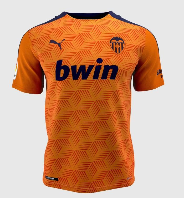 orange valencia away kit 20-21