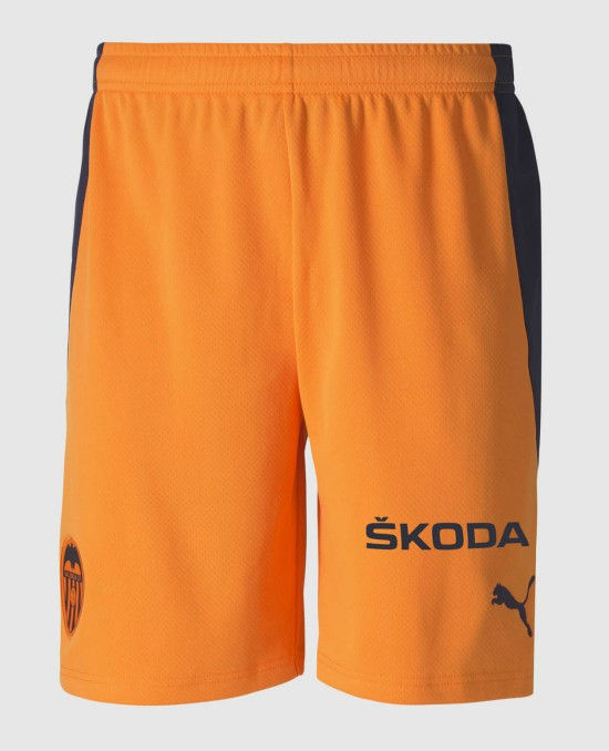 orange valencia away shorts 20-21