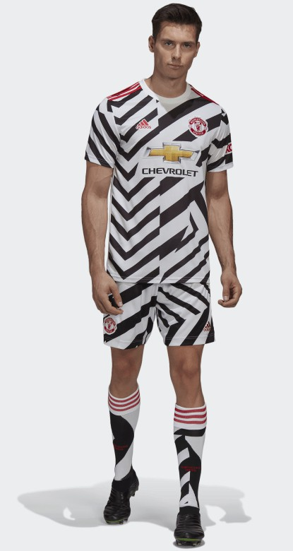New Manchester United Zebra Jersey 2020 2021 Mufc Third Shirt 20 21 Zigzag Stripes Football Kit News