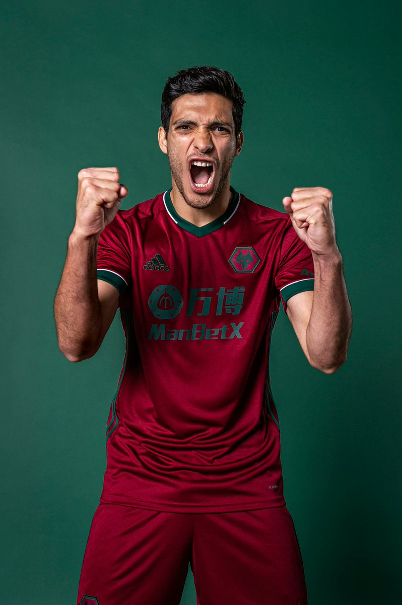 New Wolves Third Jersey 2020-2021 Portugal Red