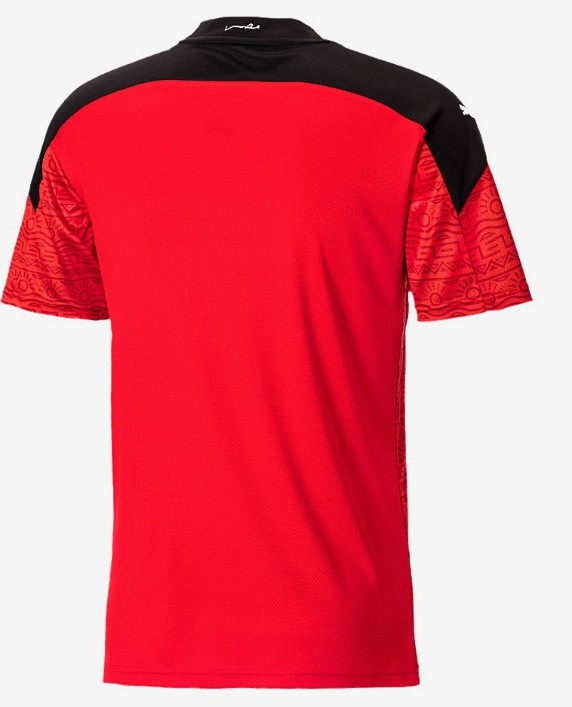 Back of Egypt Home Shirt 2020-21