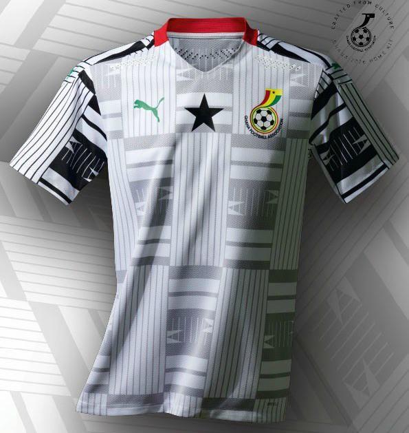 New Black Stars Jersey 2020 21