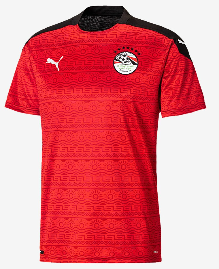 New Egypt Home Shirt 2020 Puma