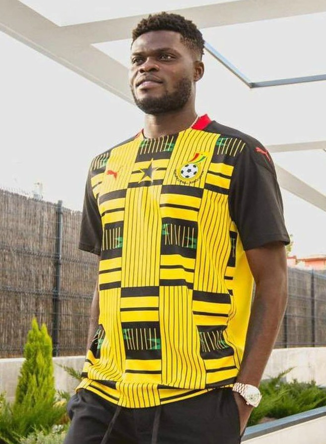 Thomas Partey Ghana Away Kit 20-21