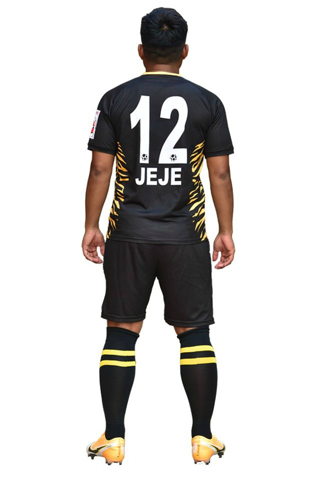 Back of East Bengal Third Black Jersey 2020-2021