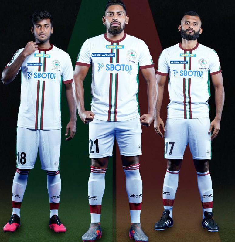 New Mohun Bagan Away Shirt 20-21 White