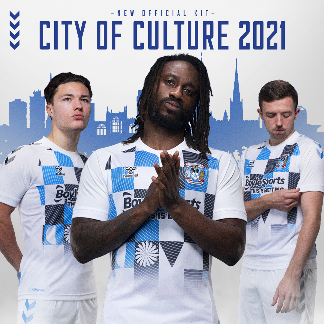 Coventry City Third Kit 2020-21