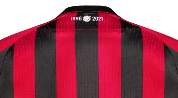 Back of Hannover 96 Sondertrikot 2021