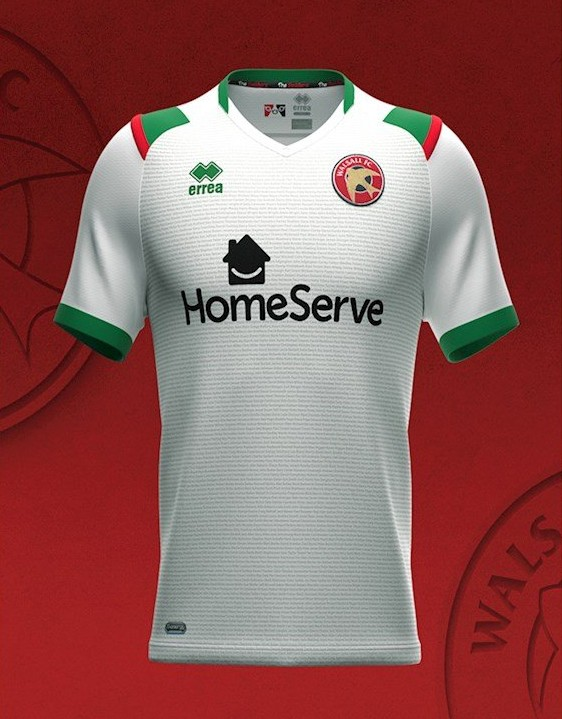 New Walsall Third Kit 21-22