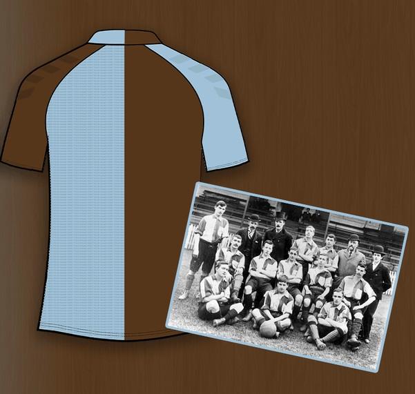 Northampton Town 125th Anniversary Shirt 2021