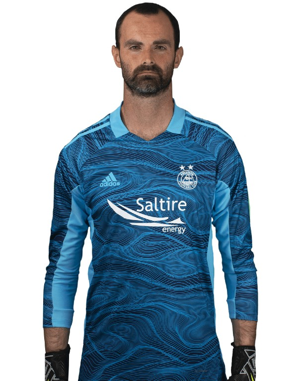 Blue Aberdeen Away GK Shirt 21-22