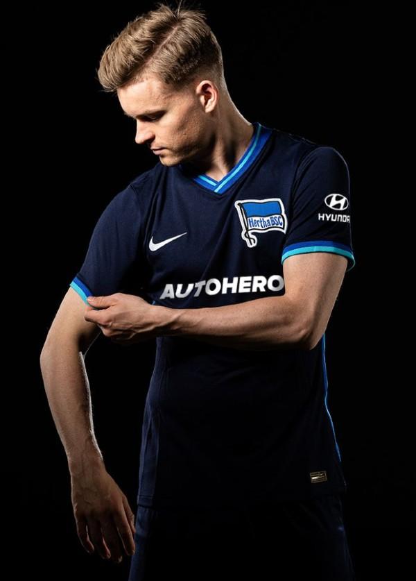 Blue Hertha Away Jersey 2021 2022 Nike