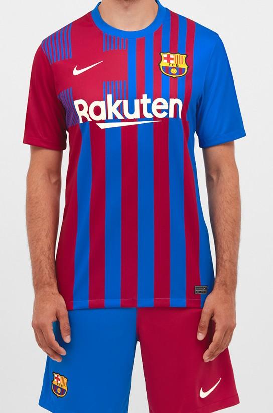 Fan Version Barcelona New Shirt 2021-22
