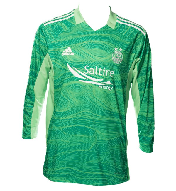 Green Aberdeen Goalkeeper Shirt 21 22