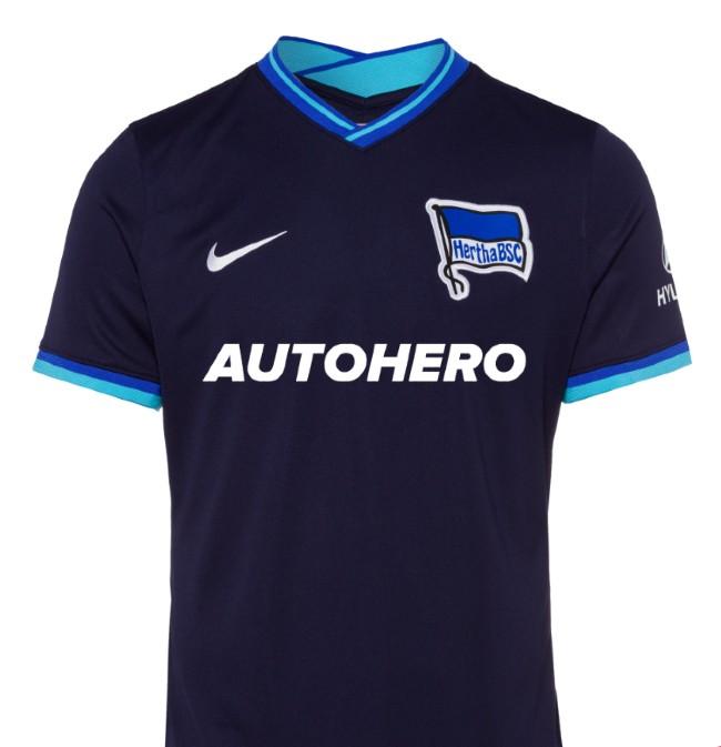 Hertha Berlin Away Shirt 21-22