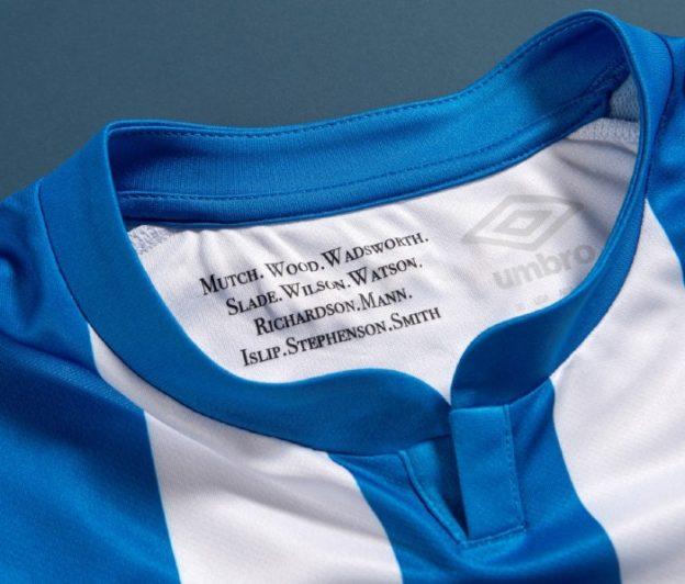 Huddersfield Shirt Inside Neck 1922 Cup Winners