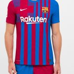 New Barcelona Jersey 2021-2022 | Nike Barca Half & Half Shorts with two colours