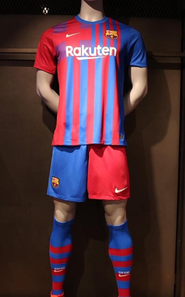 New FCB Shirt 2021 2022