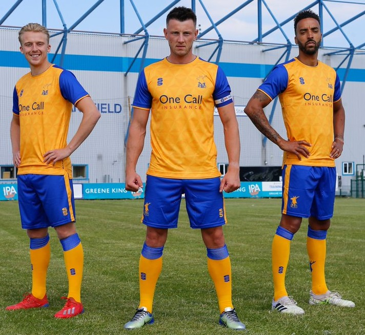 New MTFC Home Kit 21-22 League Two