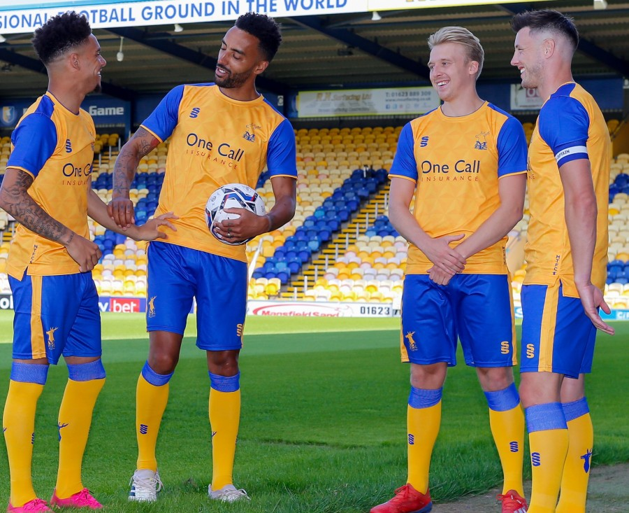 New Mansfield Town Kit 2021 2022