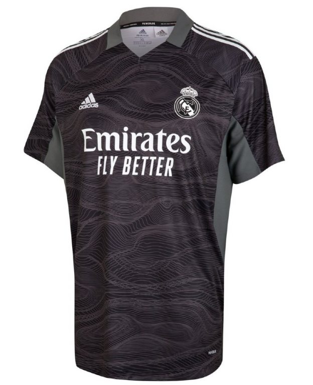New Real Madrid Goalkeeper Jersey 2021 22
