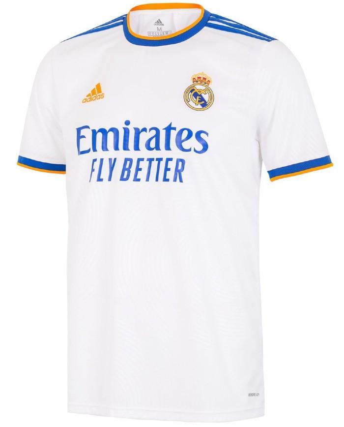 New Real Madrid Shirt 2021-22