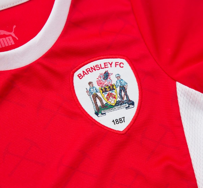 Pickaxe Design Barnsley New Shirt 2021- 22