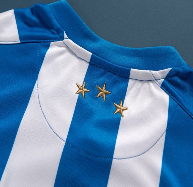 Three Stars on Huddersfield Town Jersey 2021-22