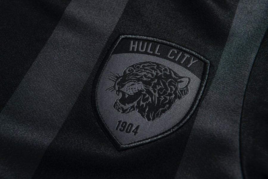 Closeup of Hull City Away Jersey 21-22