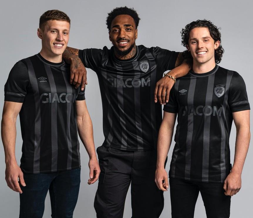 New Hull City Black Kit 2021 22