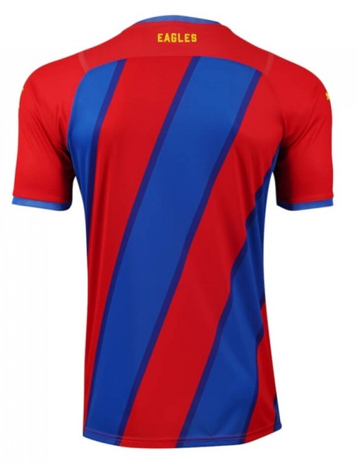 Back of Crystal Palace Home Kit 21-22