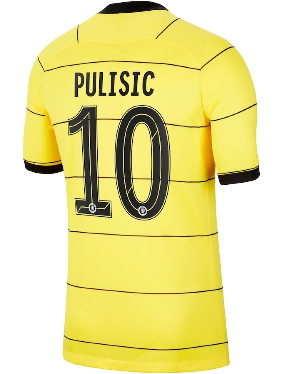 Chelsea Away Shirt 21 22 Name Letter Printing Style