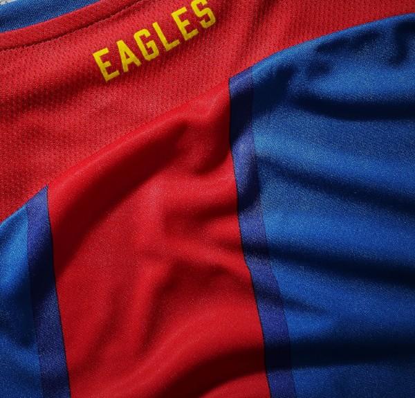 Eagles Word Crystal Palace Shirt 2021 2022