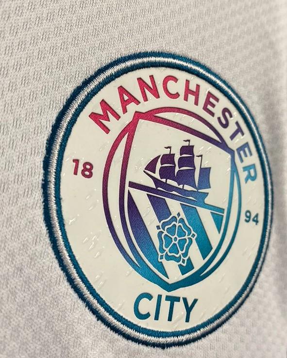 Water Droplets Man City Shirt 2021 2022