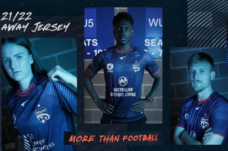 Adelaide United Away Kit 21-22